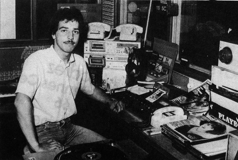 Bernard R animateur de Radio Artois 2000