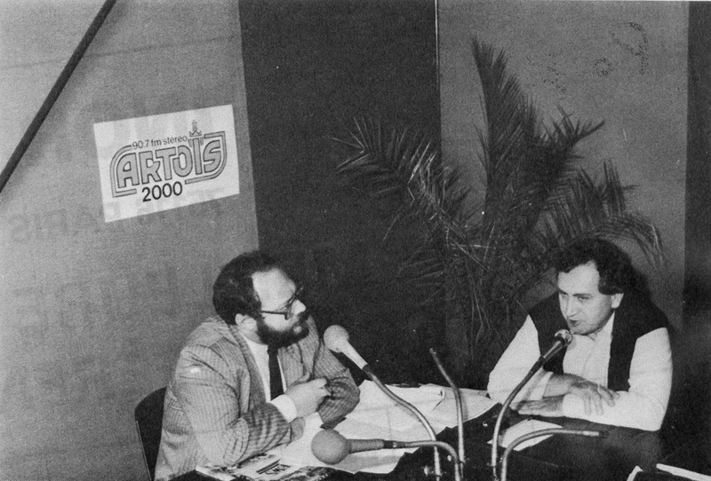 émission sur Radio Artois 2000