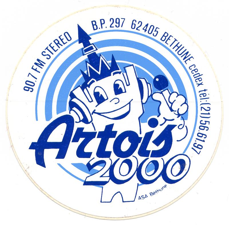 Logotype de Radio Artois 2000 n°2