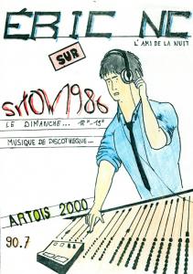 affiche de l'émission show 1986 sur Radio Artois 2000