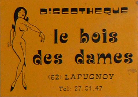discothèque hit club - le bois des dames