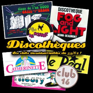discothèques du nord et pas-de-calais dans les années 80