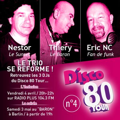 disco 80 tour
