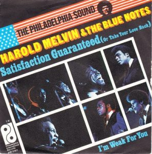 Harol Melvin & The Blues Notes - Satisfacion Guaranteed