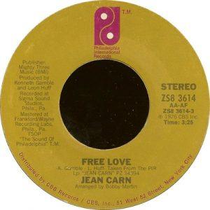 Jean Carn - Free Love